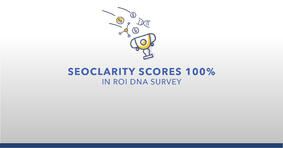 seoClarity Scores 100% in ROI DNA Survey - Featured Image