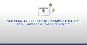 seoClarity Selects Neustar's Localeze to Enhance Local Search Capabilities - Featured Image