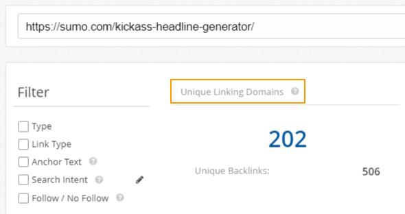 Backlinks Example Report