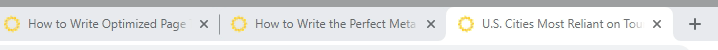 Browser Tab Titles