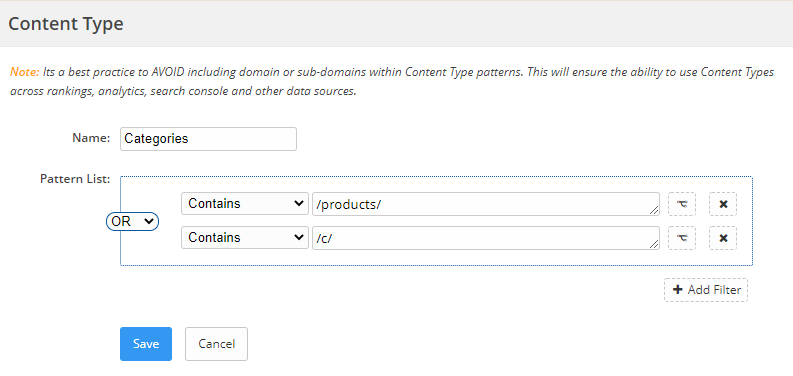 Example of a content type demo