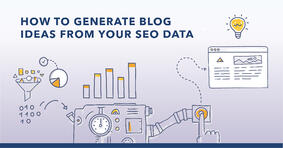 How to Generate Blog Ideas from Your Data-Driven Analysis - Featured Image