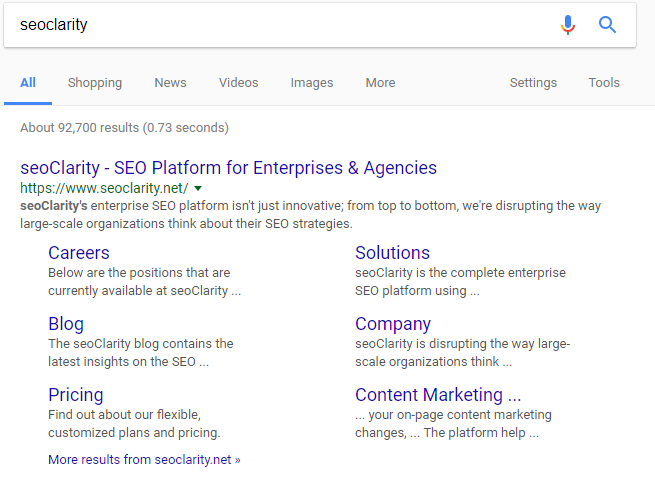 your guide to google sitelinks management