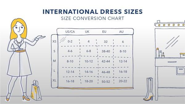 International Dress Size Chart v1