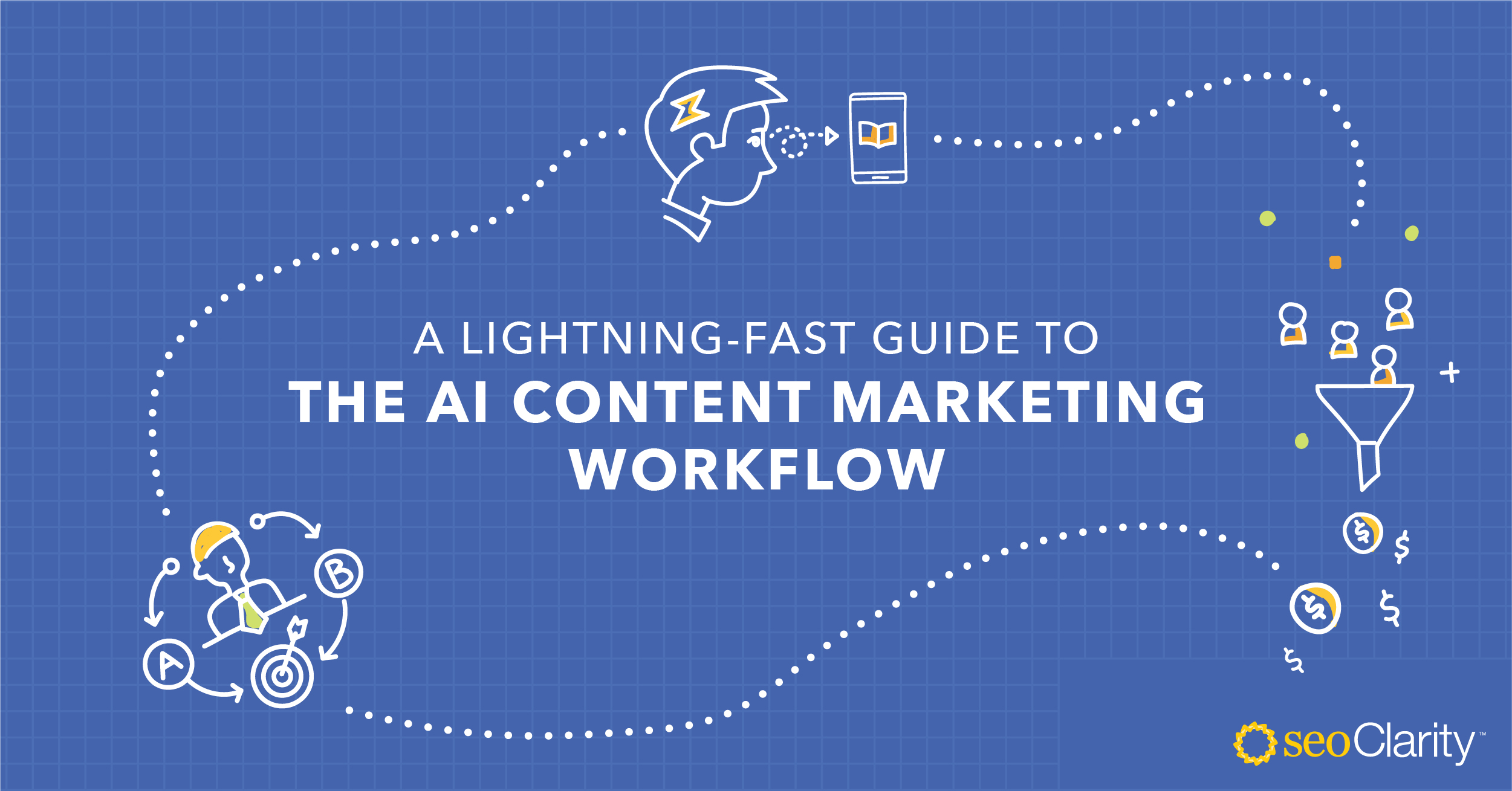 A Lightning-Fast Guide to the AI Content Marketing Workflow