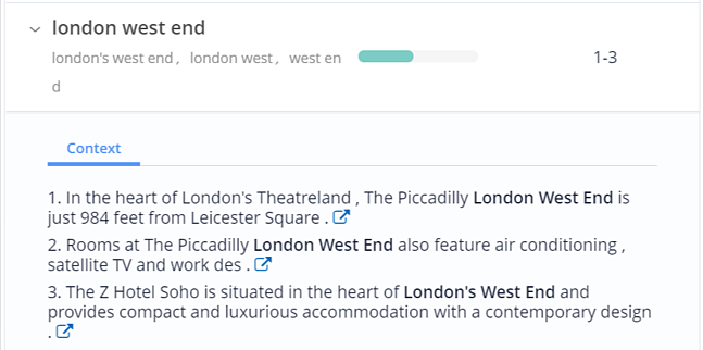 London West End - Context in Content Fusion