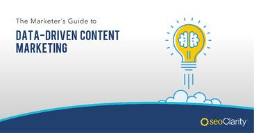 Data Driven Content Marketing Guide Cover