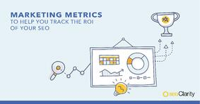 What Marketing Metrics Help You Track ROI of SEO - Featured Image