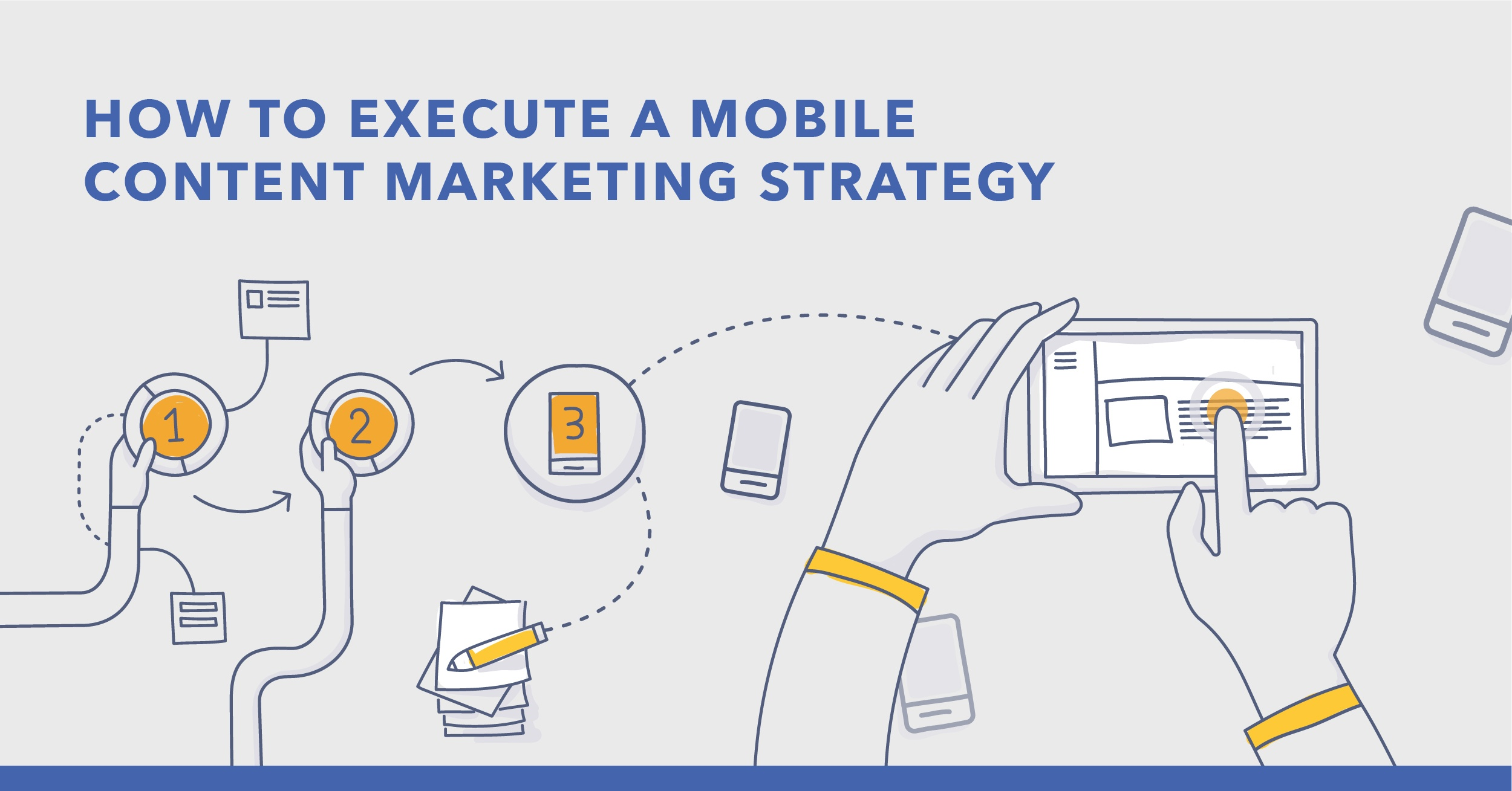 How to Create an Engaging Mobile Content Marketing Strategy - Featured Image