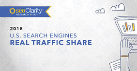 Research Study: Real Traffic Share of US Search Engines - Featured Image