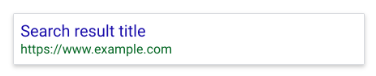 Search result not found