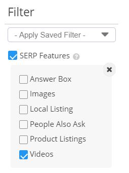 Videos Filter