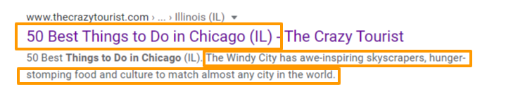 What to Do in Chicago, Meta Data