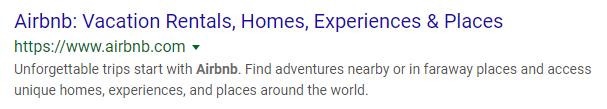 airbnb - meta