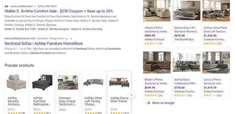ashley_furniture_sectional_Google_Search