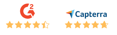capterra and g2 ratings