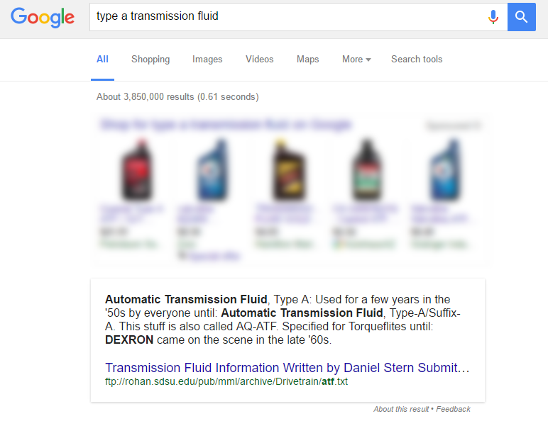 Google Answer Box Research - Instant Answers in the SERPs