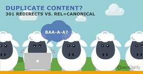 301 Redirects vs. Rel=Canonical Tags: Find the Best Route for Duplicate Content - Featured Image