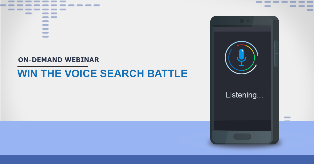 webinar-Practical Applications and Insights for Voice Search