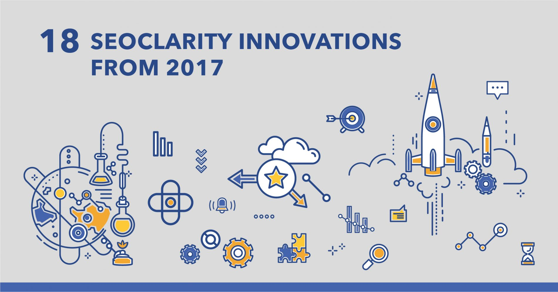 18 Most Innovative seoClarity Product Updates of 2017 - Featured Image