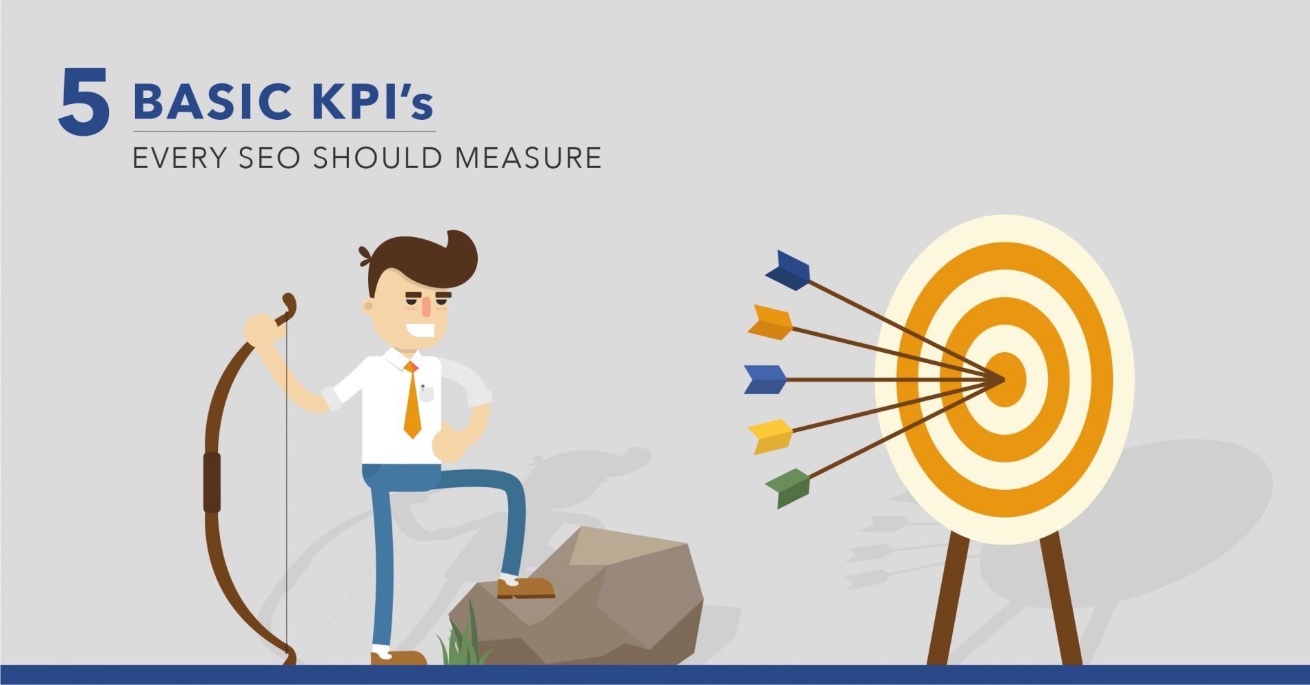 Basic SEO Metrics: 5 SEO KPIs to Track in 2018 - Featured Image