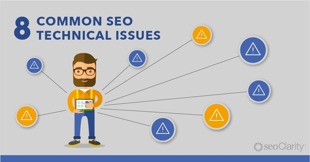 8 Common Technical SEO Issues and How to Solve Them - Featured Image