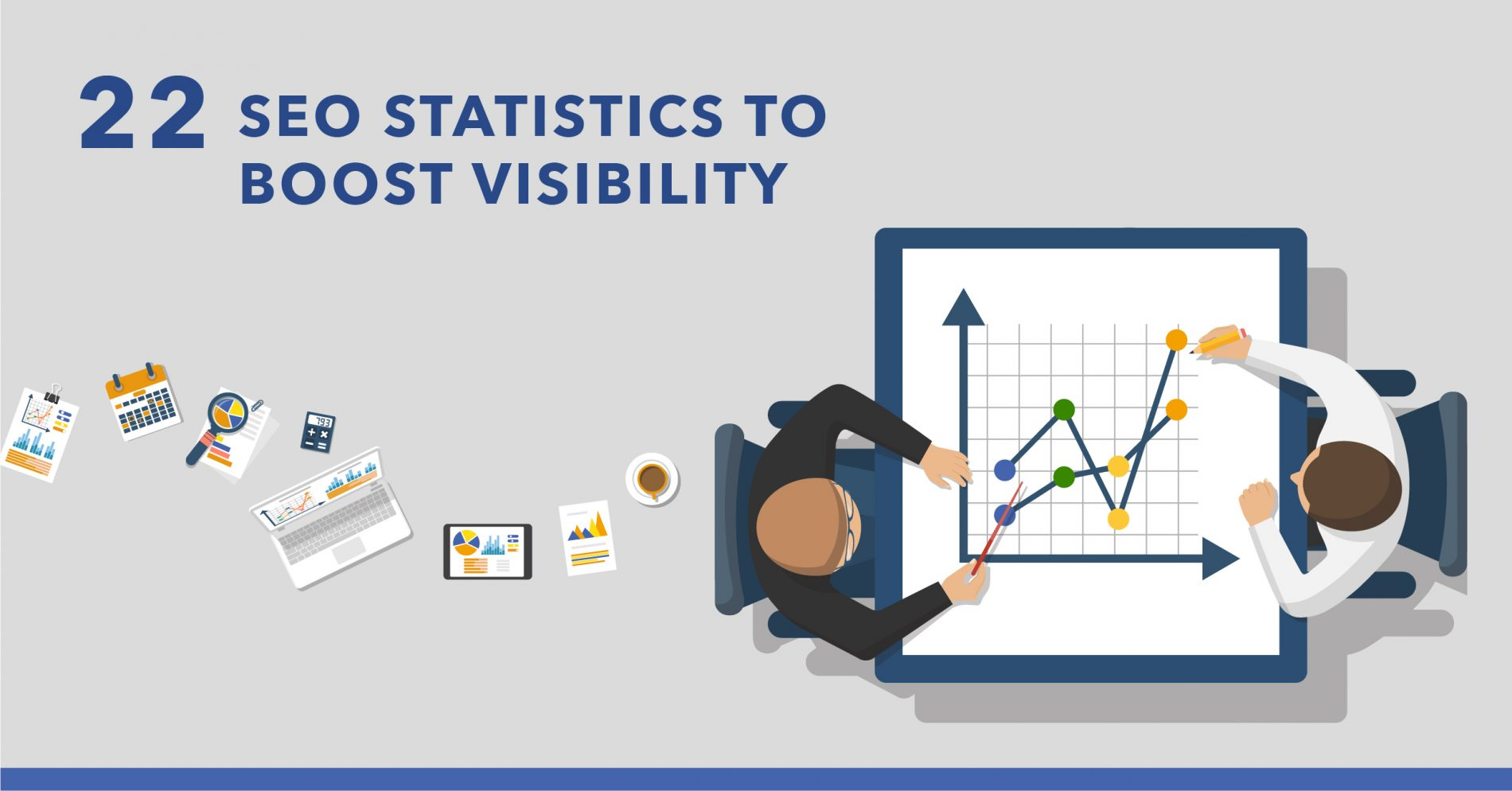 22 Relevant SEO Statistics to Help Boost Visibility in 2018 - Featured Image