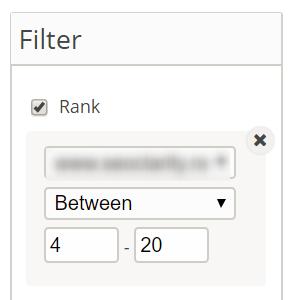 rank between