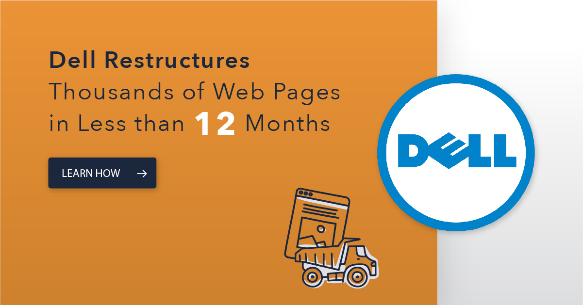 seoClarity Site Audits Help Dell Restructure Thousands of Web Pages in Less Than 12 Months