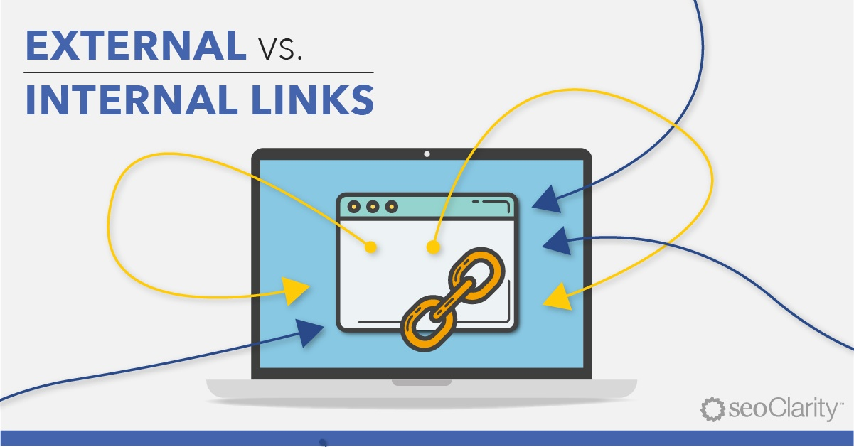 why are internal and external links important for seo
